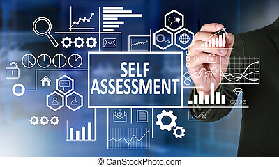 Self Assessment in Business Concept
