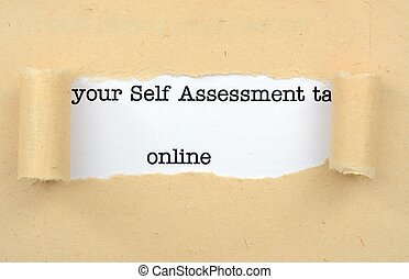 Self assessment online