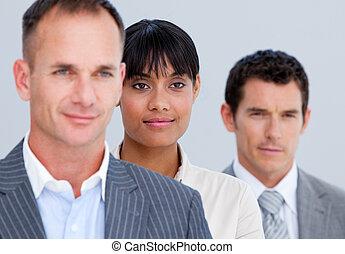 self-assured, sócios, linha, negócio, ficar