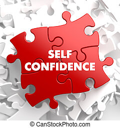 Self Confidence on Red Puzzle. - Self Confidence on Red...