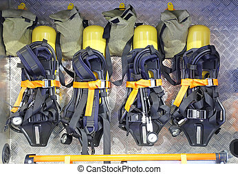 Breathing Apparatus - Self Contained Breathing Apparatus...