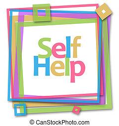 Self Help Colorful Frame