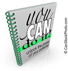 Self-Help You Can Do It Book Positive Attitude Confidence -...