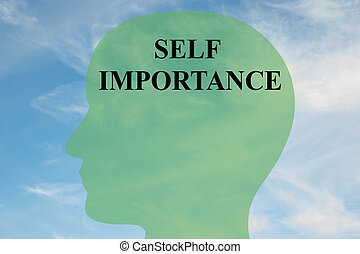 Self Importance - personality concept