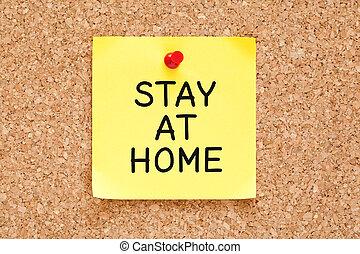 self-isolation, distancing, maison, séjour, social