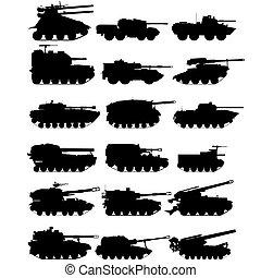 Self-propelled artillery-1 - Self-propelled anti-tank...