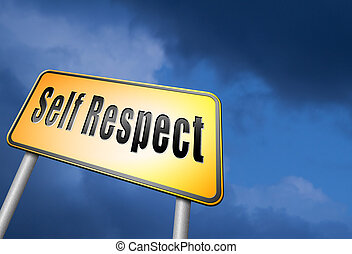self respect and dignity