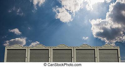 self storage modern concrete units