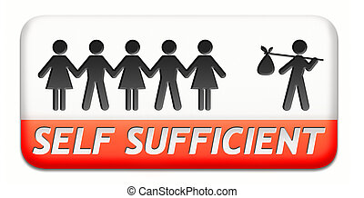self sufficient - self sufficiency sustainable renewable...