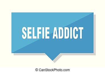 selfie addict price tag - selfie addict blue square price...