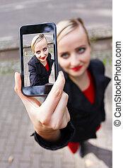 selfie, appareil photo