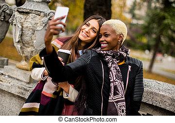Selfie outdoor