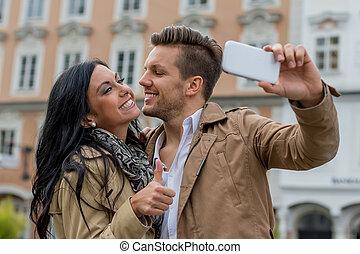selfie, par
