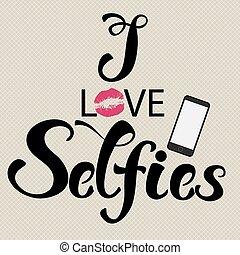 selfies, amor