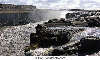 Selfoss waterfall in Iceland - Selfoss waterfall in...