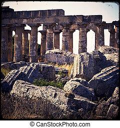 Selinunte - Archaeological area of ??Selinunte in Sicily