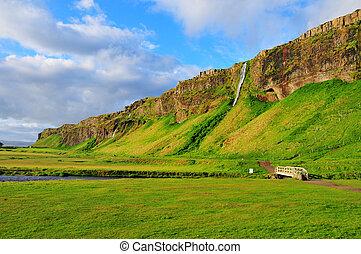Seljalandsfoss, Iceland - Landscapes Seljalandsfoss...