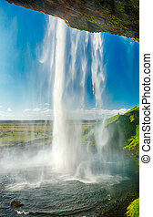Seljalandsfoss is one of the most beautiful waterfalls on ...