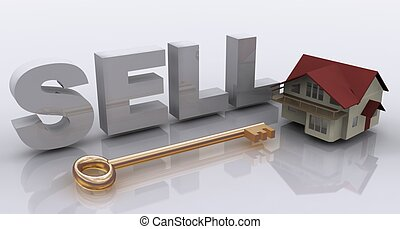 sell house concept