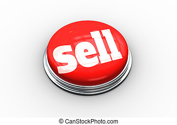 Sell on digitally generated red push button