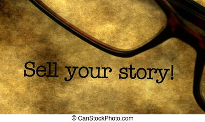Sell your story dolly shot.
