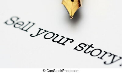 Sell your story dolly shot