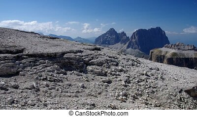Sella group in Dolomites