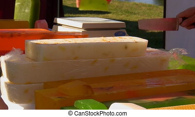 Selling home made soap