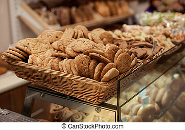 Selling of cookies