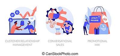 Selling techniques vector concept metaphors - Marketing ...