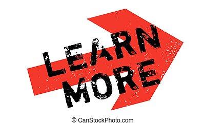 sello de goma, aprender, más