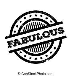 sello de goma, fabuloso
