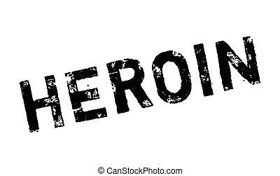 sello de goma, heroína