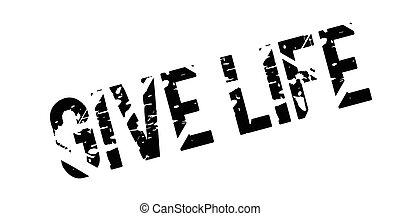 sello de goma, vida, elasticidad