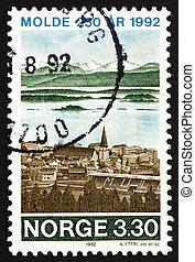 sello, molde, noruega, 1992