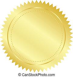 sello oro