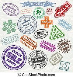 sellos, compras