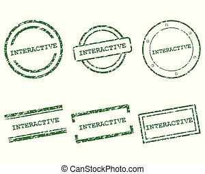 sellos, interactivo