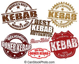 sellos, kebab
