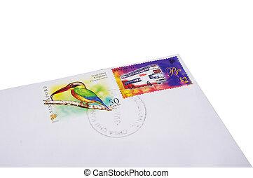 sellos,  postal