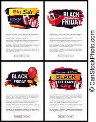 sellout, oferta, viernes, descuentos, negro, nuevo, tiendas