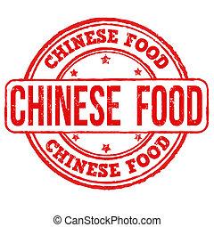 selo alimento, chinês