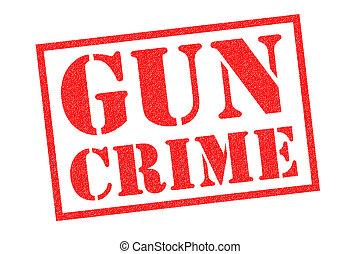 selo borracha, arma, crime