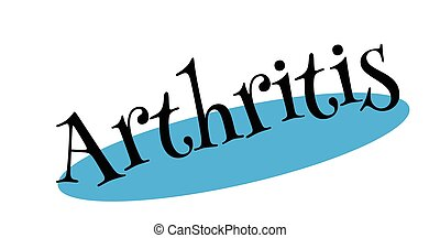 selo borracha, artrite