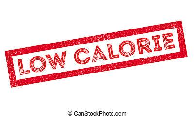 selo borracha, caloria, baixo