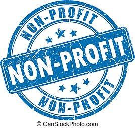 selo borracha, non-profit