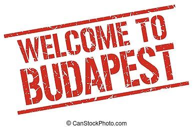 selo, budapest, bem-vindo