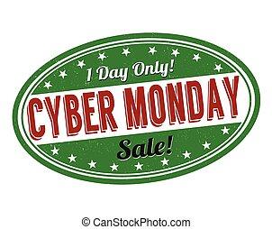selo, cyber, segunda-feira
