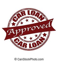 selo, empréstimo carro, aprovado