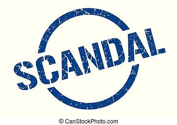 selo, escândalo